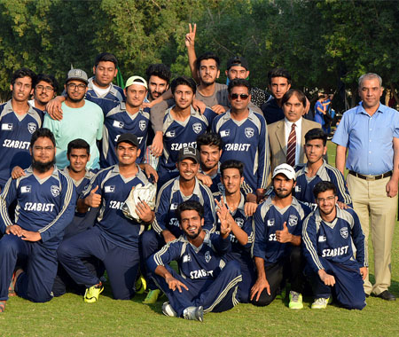 Winners of BITS Pilani Cricket Tournament (Nov, 17, 2016)